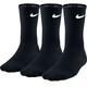 Nike Lightweight Crew Hardloopsokken 3-Pack zwart